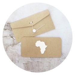 card /AFRICA/ white
